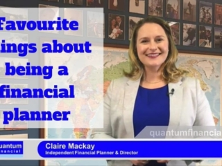 Claire Mackay on her favourite things about being a financial planner