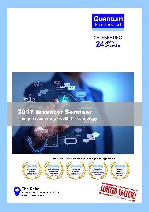 Investor Seminar Quantum Financial