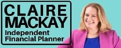 Independent financial advisor Claire Mackay